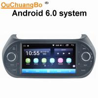 Quality Ouchuangbo car radio stereo BT android 6.0 for Fiat Fiorino 2008-2015 with gps navi AUX USB 32 GB for sale