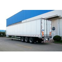 Truck Refrigerated Tractor Trailer Reefer Custom Cargo Trailers High Wall Thickness