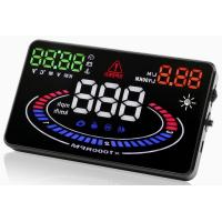 """Ouchuangbo 5.5"""" HUD Car Head Up Display LED Windscreen Projector OBD2 Scanner"""