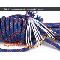 Wholesale personal protective escape rope polyester rope, high strength fire escape safety climbing rope from china suppliers