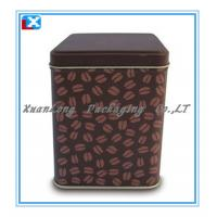 Wholesale Tinplate Coffee metal box from china suppliers