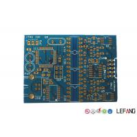 Wholesale Blue Ink Medical Device PCB , General Pcb Board For Electronics Medical Displayer from china suppliers