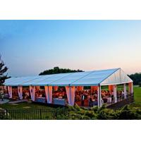 Wholesale Ceremony Huge Wedding Party Tent Aluminum Alloy 6061T6 Material Easy Maintain from china suppliers