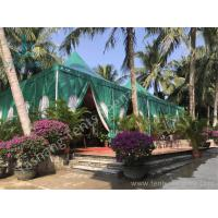 Wholesale Green PVC Fabric Cover Anodized Aluminum Framed High Peak Tent from china suppliers
