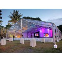 China Party Marquee Clear Span Tent Aluminum Tent For Restaurant ,  Wedding European Style for sale