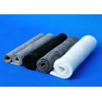 Wholesale Dark Grey Felt Fabric / Washable Felt Fabric Tear Resistant from china suppliers