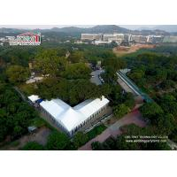 Wholesale 25m Wide Customized Luxury Wedding Tents With High Peak / Outdoor Exhibition Tents from china suppliers