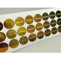 Wholesale Gloss Lamination Security Sticker Labels , Custom Size Security Seal Stickers from china suppliers