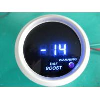 Wholesale Blue Red Light Universal Auto Gauges , Turbo Digital Gauges For Cars from china suppliers
