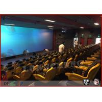 China Hydraulic System 5D Movie Theatre Simulator 3Dof 6Dof With 48 Seats on sale