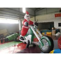 Wholesale Inflatable Outdoor Christmas Decorations / Giant Inflatable Santa Claus from china suppliers