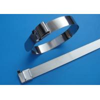 Buy cheap SS201 / 304 / 316 Stainless Steel Wire Ties With Wing Seals Locking Eco Friendly from wholesalers