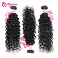 Wholesale 8A Quality Virgin Brazilian Human Hair Bundles Water Wave No Oiled Gloosy from china suppliers