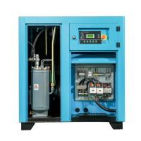 China Slient Electric Rotary Screw Air Compressor / Small Belt Driven Air Compressor on sale