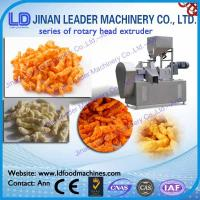 Wholesale Rotary head extruder for cheetos kurkure cheese curls making machine from china suppliers