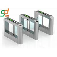Wholesale Fingerprint Rfid Supermarket Swing Entry Turnstiles Semi Automatic from china suppliers