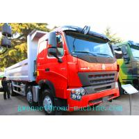 Wholesale Euro II / III ZZ3317N3867N1 Heavy Duty Trucks HOWO A7 380HP 8 x 4 , Unloading Dump Trucks from china suppliers
