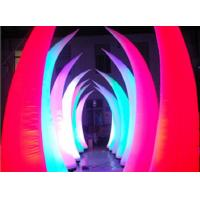 Wholesale Beautiful Bridge Led Inflatable Lighting Tusk Type For Romantic Party from china suppliers