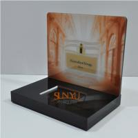 Quality Laser Cutting Craft Cosmetic Display Rack Respectively Perfume Show for sale