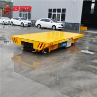 Wholesale Remote Control Maintainence Free Battery Power Customized Transfer Cart on railway from china suppliers