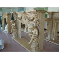 Wholesale Travertine Fireplace from china suppliers