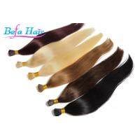 Wholesale Women i Tip Hair Extensions 100 Virgin Human Hair Weave With Full Cuticles from china suppliers