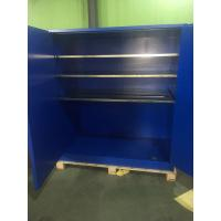 Wholesale 90 Gallon Venting Flammable Cabinets , Pesticide Storage Cabinets For Corrosive Liquids from china suppliers