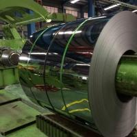 Wholesale 430 BA Mirror Stainless Steel Strip Roll , ASTM 304 430 420 316L Aisi Steel Strip Coil 0.3mm-3mm from china suppliers