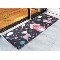 Wholesale Modern Cartoon Indoor Area Rugs / Cushion Non Slip Entrance Mats from china suppliers