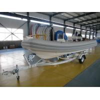 Wholesale Professional Galvanized Steel Boat Trailer 550cm Durable Single Axle Boat Trailer from china suppliers