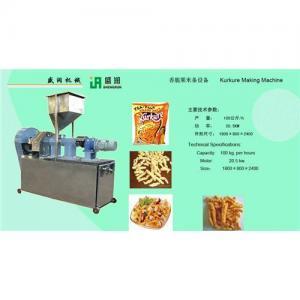 Wholesale Kurkure making machine/kurkure extruder machine from china suppliers