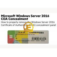 Wholesale OEM Computer System Softwares , Microsoft Server 2016 Standard DVD 32 64 Bit Sticker from china suppliers