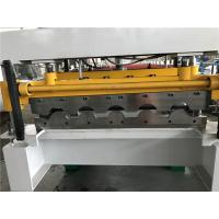 Wholesale Wall Panel Structure Tile Roll Forming Machine 70mm Shaft / 40GP Container from china suppliers