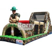 Wholesale 0.55 PVC Army Inflatable Obstacle Course Military Obstacle Course For Adults from china suppliers