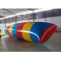 Quality Interesting Inflatable Water Toys , Inflatable Water Blob Pillow For Adults for sale