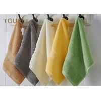 Wholesale Embroidery Hotel Face Towel Bright Color 100% Cotton Face Flannels from china suppliers
