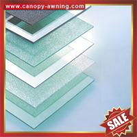 Buy cheap high quality roof solid pc Polycarbonate board sheet sheeting panel plate for greenhouse building construction project from wholesalers