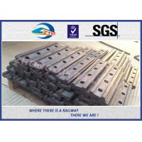 Buy cheap 4 Holes BS80A Railway Fish Plate Rail Joint Bars steel fish plates With Plain Colors from wholesalers