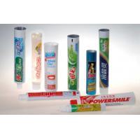 China EVOH / Plastic / Aluminium Barrier LaminateToothpaste Tube Packaging  for sale