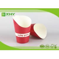 Wholesale Red Color Printed 9oz French Fries Chip Paper Cups with FDA Certificated from china suppliers