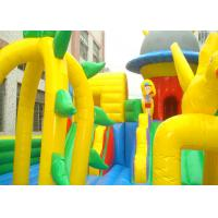 Customized Colourful Inflatable Bouncy Castle , Kids Inflatable Playground