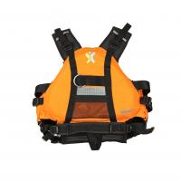 China White Water Boat Inflatable Life Jackets High Strength Nylon 3D Design for sale