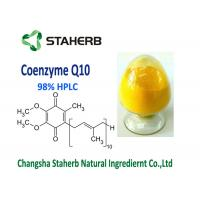 Wholesale Raw Material Coenzyme Q10 Powder Supplement 99% Purity Anti Aging CAS 303 98 0 from china suppliers