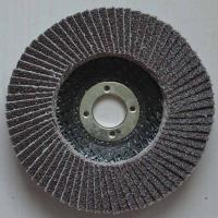 Wholesale High temperature fused Aluminum Oxide Abrasive Flap Discs Conical For Angle Grinders Fiber from china suppliers