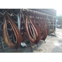 Quality Rusty Art Decorative Outdoor Metal Sculpture Various Sizes / Finishes for sale