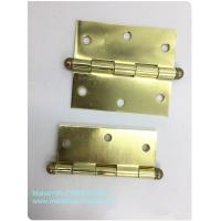 China High End Ball Tip Cabinet Hinges Precise Cut Residential High Security Round Type for sale