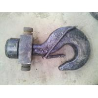 China Tower crane spare part hook for tower crane on sale