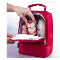 Wholesale Cute Kids Lunch Bags / Thermos Childrens Lunch Bag With Bottle Holder from china suppliers
