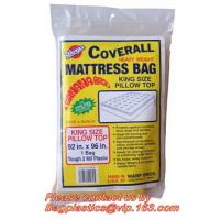 Quality Plastic Mattress Protector Bag or Sofa Cover For Storage ,Moving, High tensile for sale