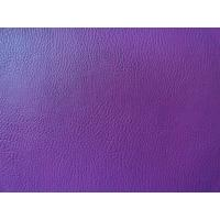 Buy cheap Purple Color Embossed Leather Upholstery Thickness 1.0mm Good Elastic Strenghth from wholesalers